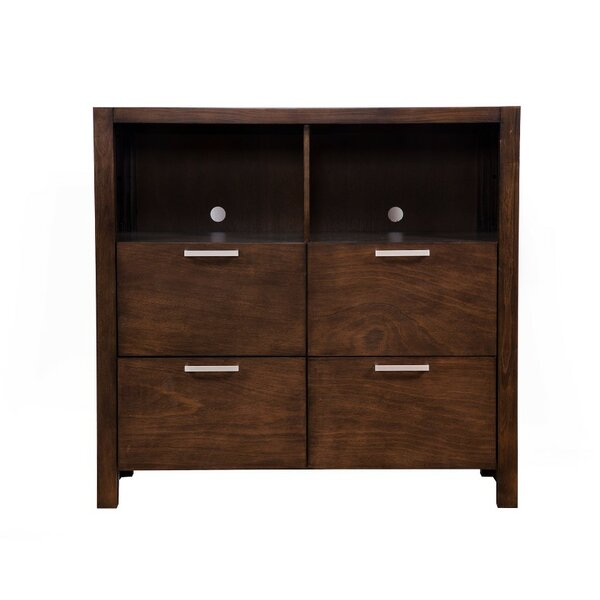 Read Reviews Lahl TV 4 Drawer Media Chest