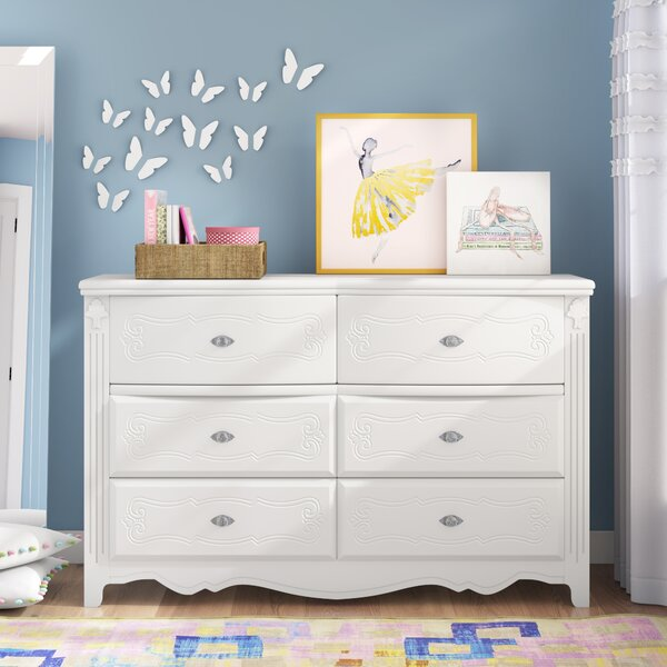 Emma 6 Drawer Double Dresser by Viv + Rae