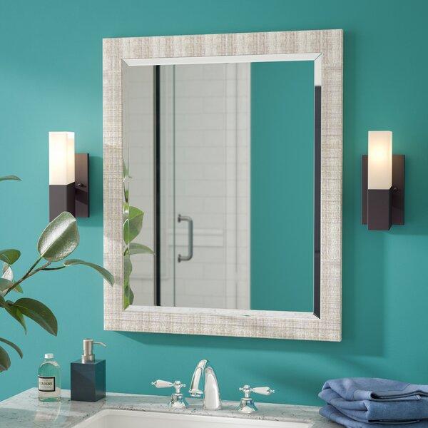 Lynx Textured Mesh Wall Mirror Mirror by Brayden S