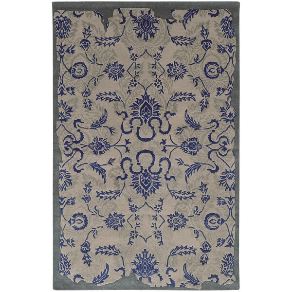Color Influence Distressed Look Grey / Blue Area Rug by Pantone Universe