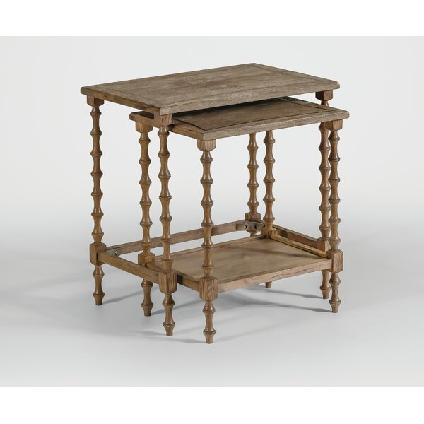 Lionel 2 Piece Nesting Tables by Gabby