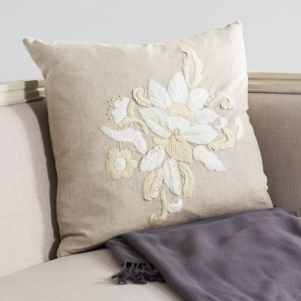 June Cotton Throw Pillow (Set of 2) by Safavieh