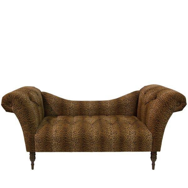 Sullivan Tufted Chaise Lounge By Rosdorf Park