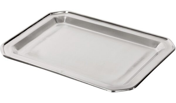 Stainless Steel Rectangle Serving Tray by DMA Elements