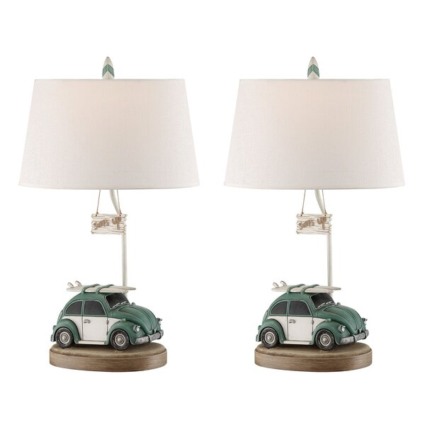 Marguerite 29 Table Lamp (Set of 2) by Highland Dunes