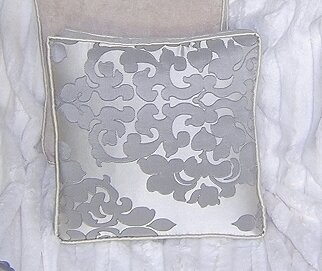 Sterling Cotton Throw Pillow by Blueberrie Kids