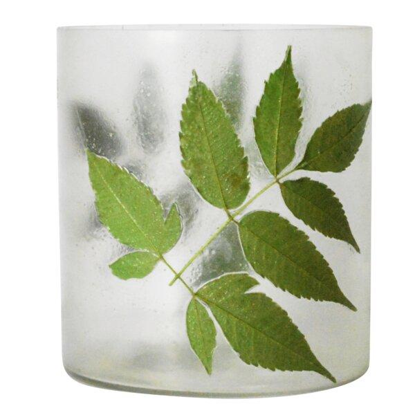 Park Ridge Glass Leaf Table Vase (Set of 2) by Loon Peak