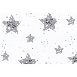 Great Price 100% Cotton Star Fitted Crib Sheet ByBlueberrie Kids