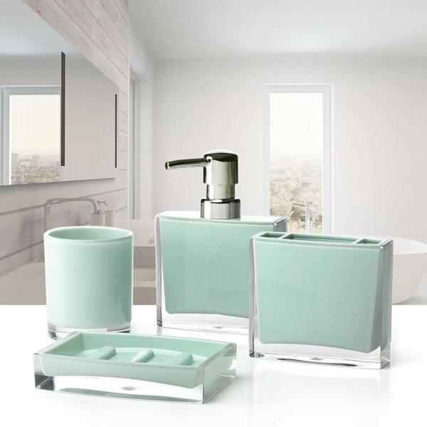 Iced 4-Piece Bathroom Accessory Set by Immanuel