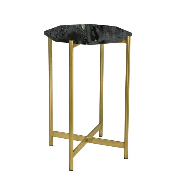 Cavallaro End Table by Everly Quinn Everly Quinn