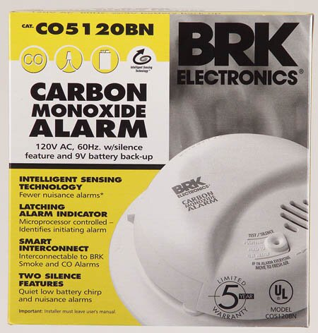 AC Powered Carbon Monoxide Alarm by First Alert