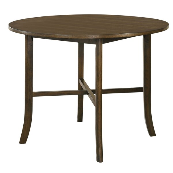 Terrence Round Counter Height Dining Table By Gracie Oaks