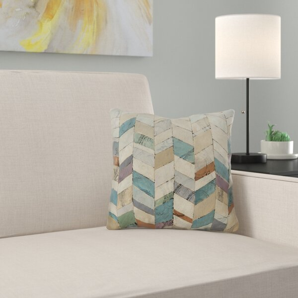 Monro Ii Printed Throw Pillow by Zipcode Design