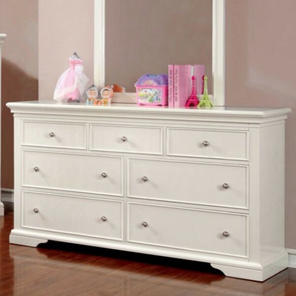 Roermond 7 Drawer Double Dresser by Harriet Bee