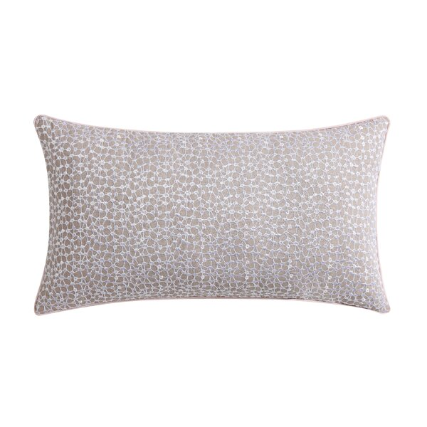 Ombre Lace Eyelet Throw Pillow by Christian Siriano