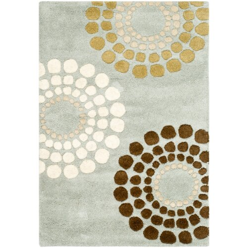 Andover Mills Faye Hand Tufted Wool Black White Area Rug Reviews Wayfair