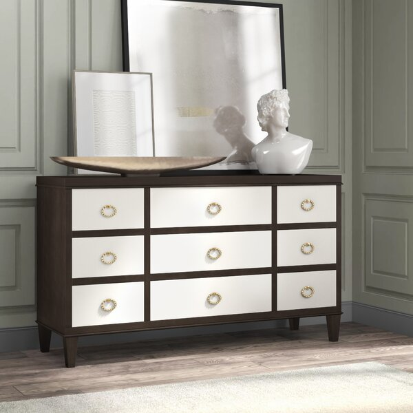 Jet Set 9 Drawer Dresser by Bernhardt