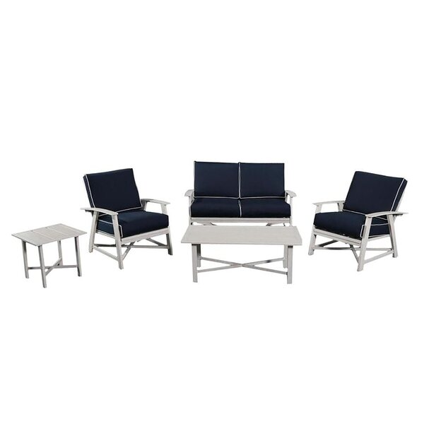 Buchholz 5 Piece Sofa Seating Group by Breakwater Bay