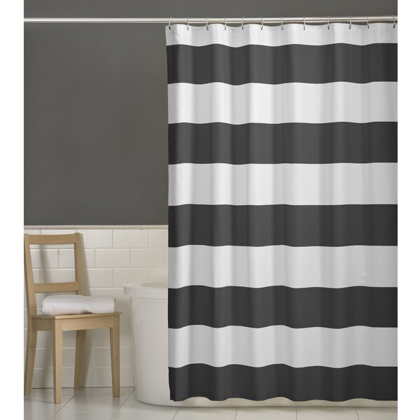 Berwyn Fabric Shower Curtain by Beachcrest Home