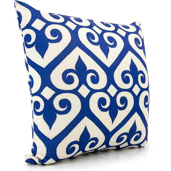 Ikat Throw Pillow by Darby Home Co