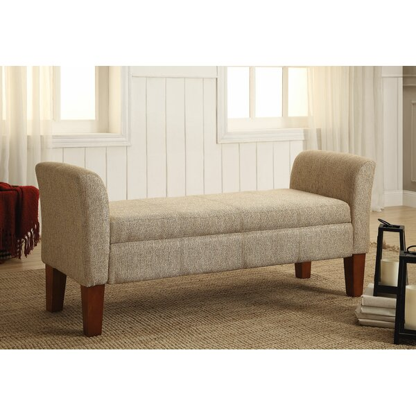 Lozoya Contemporary Upholstered Bench by Charlton Home