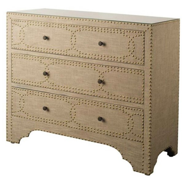 Sandra 3 Drawer Accent Chest by Bungalow Rose