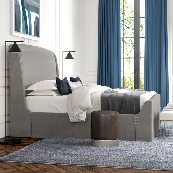 Sleep Tight Upholstered Sleigh Bed by Caracole Classic