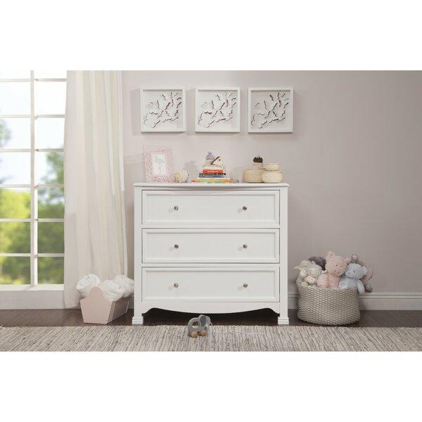 Kalani 3 Drawer Standard Dresser by DaVinci