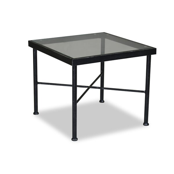 Provence Glass Side Table by Sunset West Sunset West