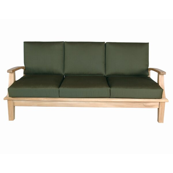 Brianna Teak Patio Sofa by Anderson Teak