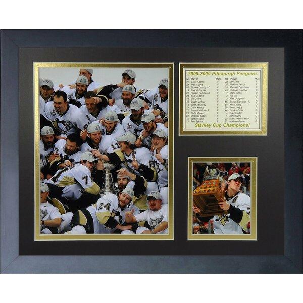 2009 Pittsburgh Penguins Champions - Celebration Framed Memorabilia by Legends Never Die
