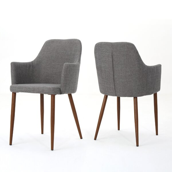 Joshua Upholstered Dining Chair (Set of 2) by George Oliver