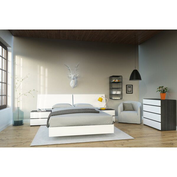 Ashcraft Platform 4 Piece Bedroom Set by Orren Ellis