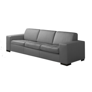 Wenlock Leather Sofa by Orren Ellis SKU:CB494456 Description