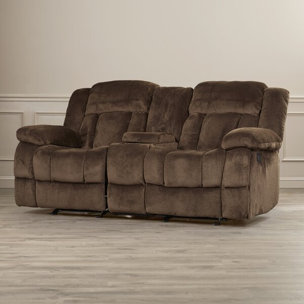 Expert Reviews Dale Reclining Loveseat by Darby Home Co by Darby Home Co
