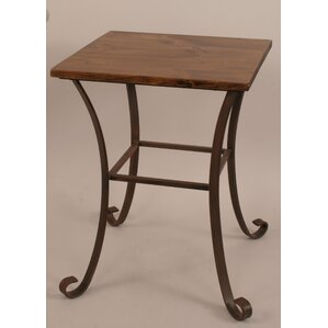 Rustic Living End Table by Coast Lamp Mfg.