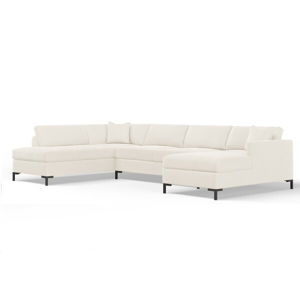 Audrey Modular Sectional by Wayfair Custom Upholstery™