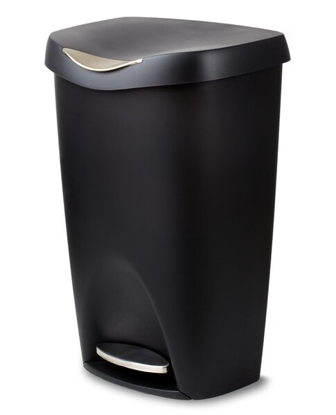 Plastic 13 Gallon Step On Trash Can by Umbra