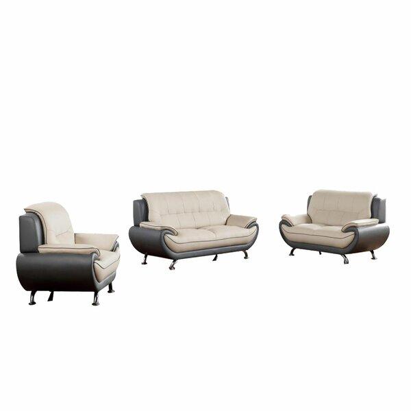 Knipp 3 Piece Standard Living Room Set by Orren Ellis
