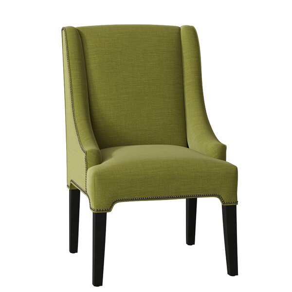 Modern Fairfield Upholstered Dining Chair By Sloane Whitney 2019 Sale