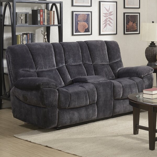 Chic Collection Pascarella Reclining Loveseat by Winston Porter by Winston Porter