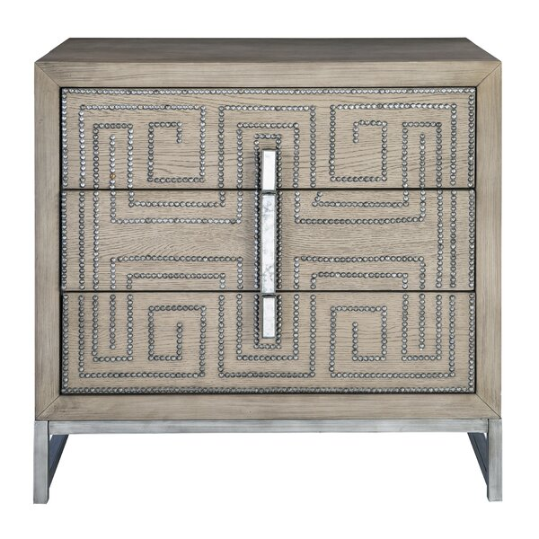 Lucida 3 Drawer Accent Chest