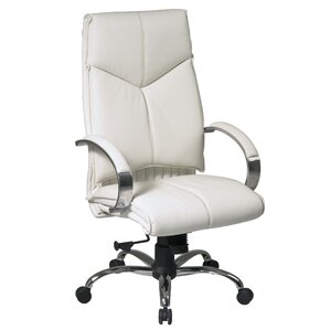 genuine leather office chairs   joss & main