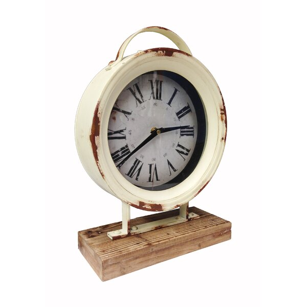 Timberland Tabletop Clock by Wilco Home
