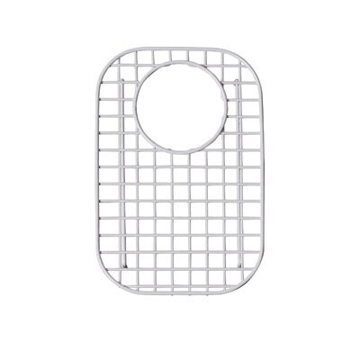 Wire Sink Grid Kitchen Sinks Small Right Hand Bowl in Stainless Steel by Rohl