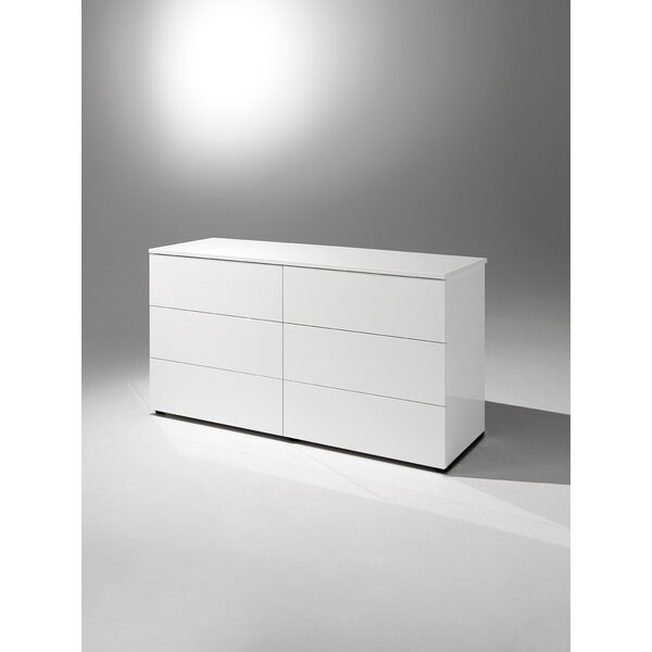 Basic 6 Drawer Double Dresser by YumanMod