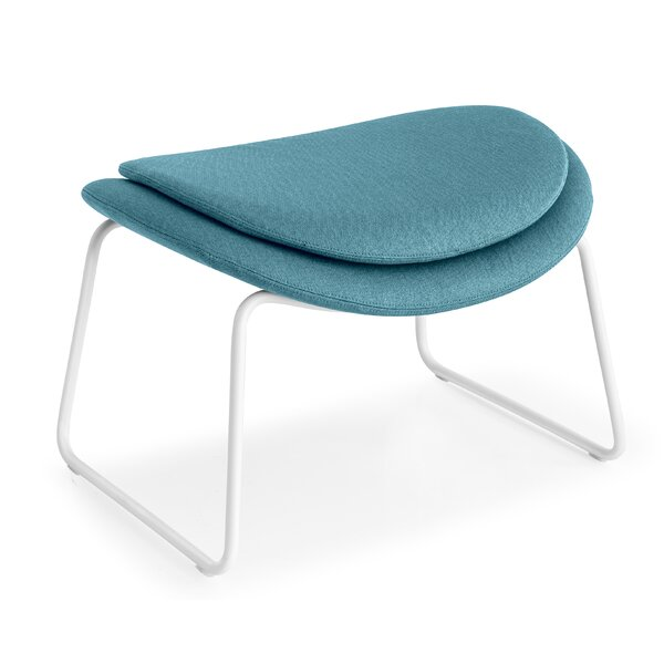 Lazy Metal Arm Chair Ottoman by Calligaris
