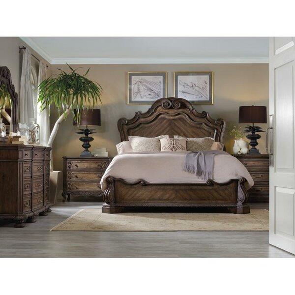 Rhapsody Panel Bed by Hooker Furniture