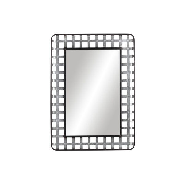 Rosenda Metal Wall Mounted Mirror by Gracie Oaks
