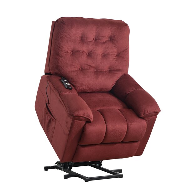 Chalgrave Faux Leather Power Lift Assist Recliner W003195442